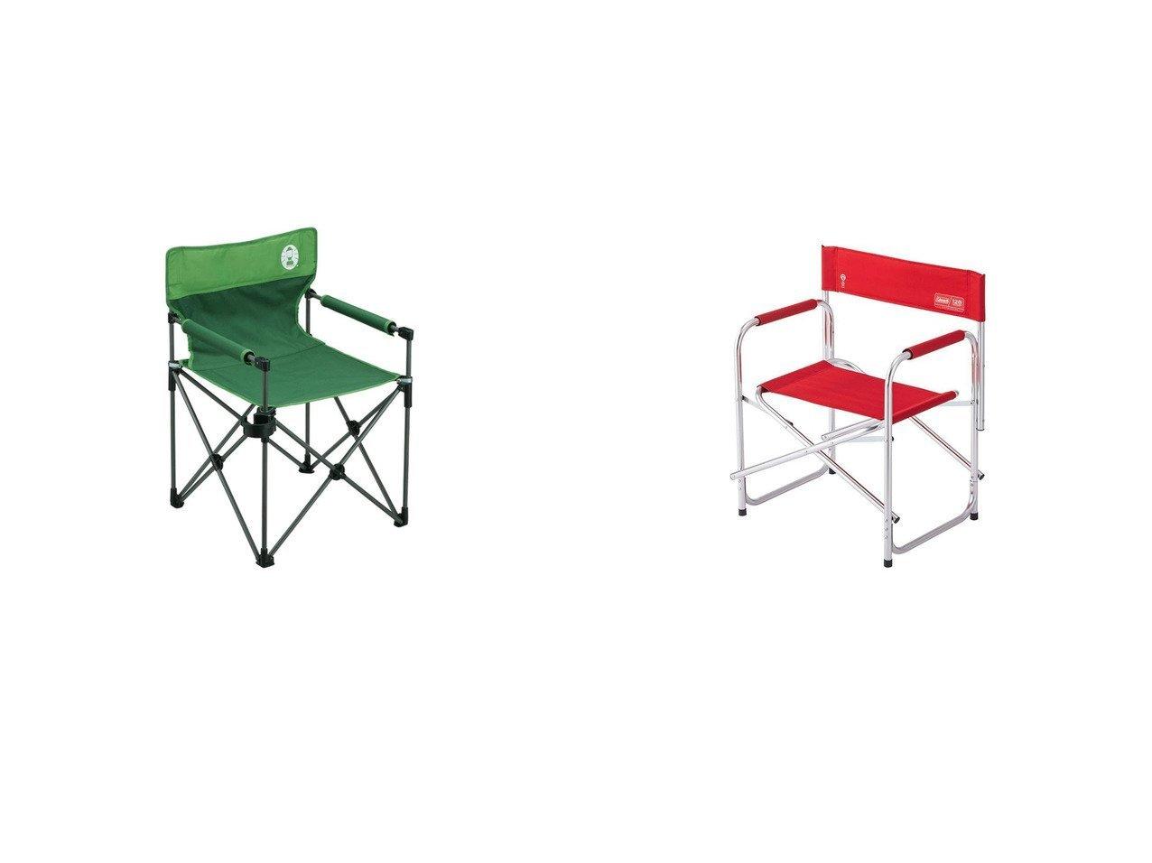 【coleman/コールマン】の【商品】椅子 チェア 折りたたみ 120周年キャプテンチェア 2000037320&カップホルダー付きスリムチェア グリーン 2000010512 おすすめ!人気キャンプ・アウトドア用品の通販 おすすめで人気の流行・トレンド、ファッションの通販商品 メンズファッション・キッズファッション・インテリア・家具・レディースファッション・服の通販 founy(ファニー) https://founy.com/ スリム テーブル フレーム 人気 ホーム・キャンプ・アウトドア Home,Garden,Outdoor,Camping Gear キャンプ用品・アウトドア  Camping Gear & Outdoor Supplies チェア テーブル Camp Chairs, Camping Tables  ID:crp329100000035237