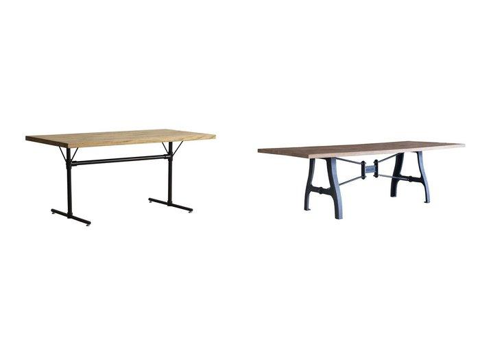【knot antiques / CRASH GATE/ノットアンティークス】のフラッグ LD テーブル 1400(WFT-1)&クランキー テーブル(パイン古材) 【FURNITURE】おすすめ!人気、インテリア・家具の通販 おすすめファッション通販アイテム レディースファッション・服の通販 founy(ファニー) シンプル テーブル モチーフ ホーム・キャンプ・アウトドア Home,Garden,Outdoor,Camping Gear 家具・インテリア Furniture テーブル Table ダイニングテーブル  ID:crp329100000035287