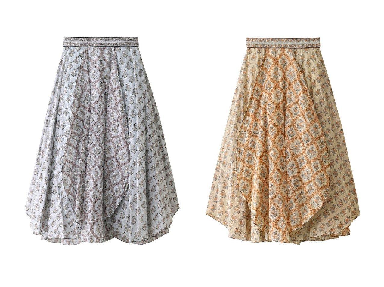 【Pheeta/フィータ】のMabel プリントコットンフレアスカート 【スカート】おすすめ!人気、トレンド・レディースファッションの通販 おすすめで人気の流行・トレンド、ファッションの通販商品 メンズファッション・キッズファッション・インテリア・家具・レディースファッション・服の通販 founy(ファニー) https://founy.com/ ファッション Fashion レディースファッション WOMEN スカート Skirt Aライン/フレアスカート Flared A-Line Skirts ロングスカート Long Skirt インド オーガンジー フォルム フレア ブロック プリント ロング |ID:crp329100000035428