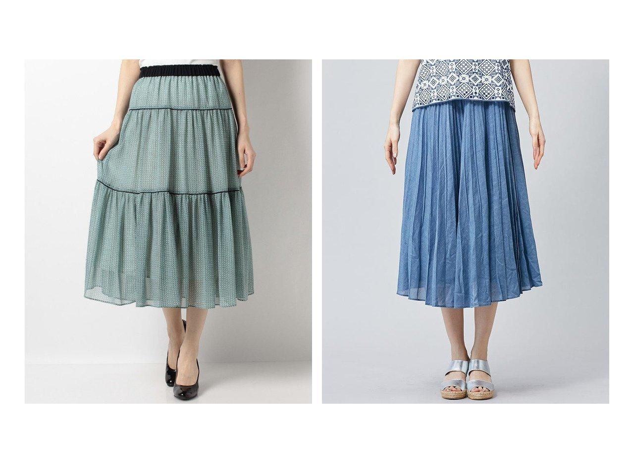 【ANAYI/アナイ】のドットプリントティアードスカート&【LEILIAN/レリアン】のランダムプリーツスカート 【スカート】おすすめ!人気、トレンド・レディースファッションの通販 おすすめで人気の流行・トレンド、ファッションの通販商品 メンズファッション・キッズファッション・インテリア・家具・レディースファッション・服の通販 founy(ファニー) https://founy.com/ ファッション Fashion レディースファッション WOMEN スカート Skirt ティアードスカート Tiered Skirts プリーツスカート Pleated Skirts S/S・春夏 SS・Spring/Summer サマー シフォン ティアードスカート ドット 再入荷 Restock/Back in Stock/Re Arrival 春 Spring インディゴ プリーツ ランダム |ID:crp329100000035438