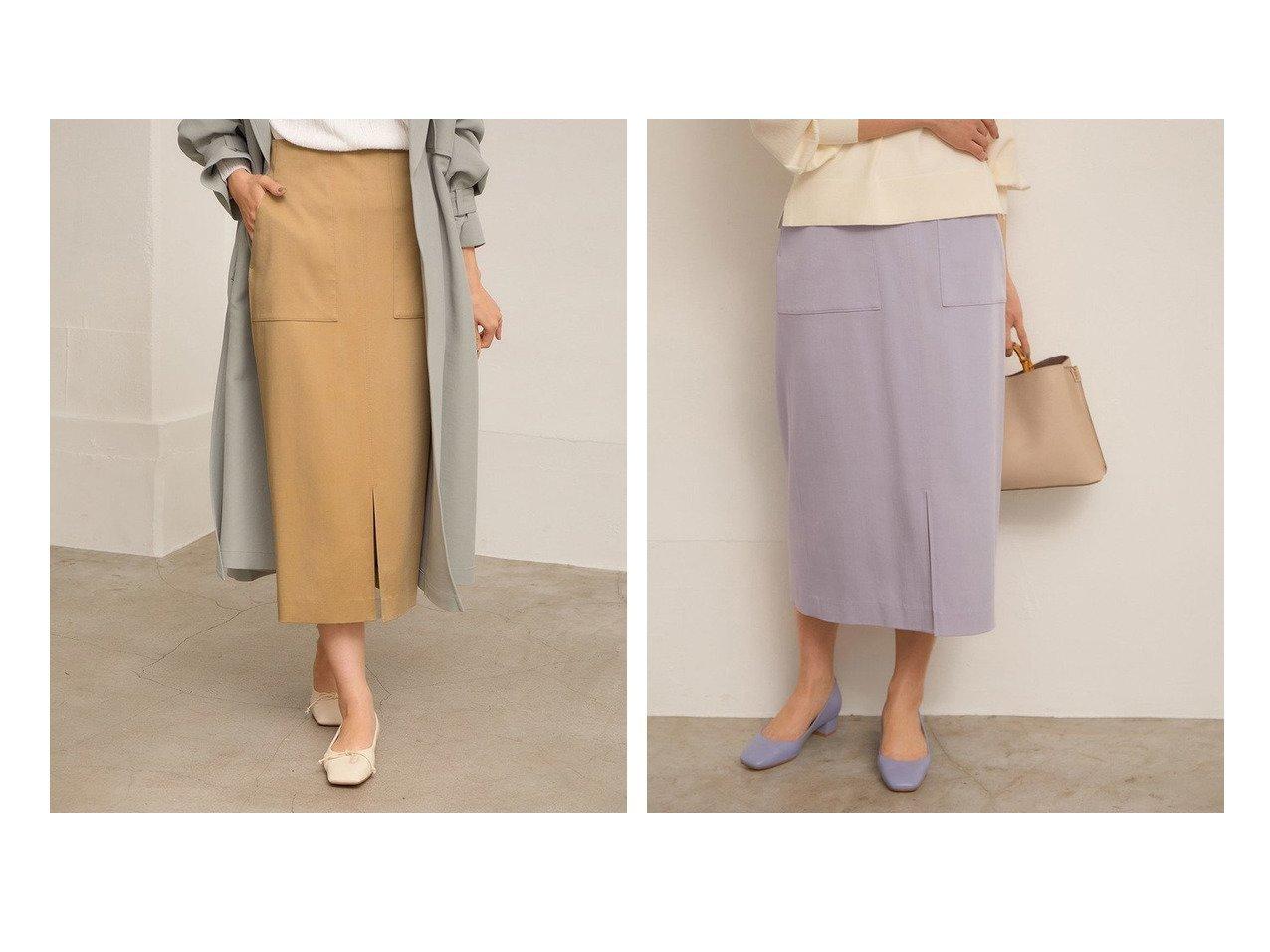 【ROPE'/ロペ】の【21SS】ポケット付きストレッチタイトスカート 【スカート】おすすめ!人気、トレンド・レディースファッションの通販 おすすめで人気の流行・トレンド、ファッションの通販商品 メンズファッション・キッズファッション・インテリア・家具・レディースファッション・服の通販 founy(ファニー) https://founy.com/ ファッション Fashion レディースファッション WOMEN スカート Skirt ストレッチ スリット タイトスカート デニム フェミニン ベーシック ポケット ラベンダー 楽ちん 2021年 2021 S/S・春夏 SS・Spring/Summer 2021春夏・S/S SS/Spring/Summer/2021 おすすめ Recommend |ID:crp329100000035439