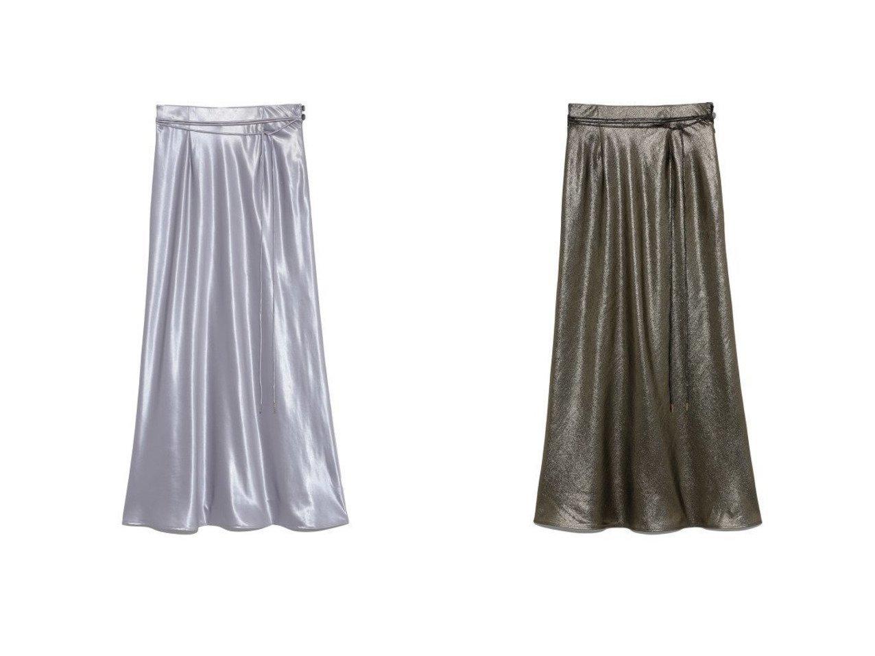 【Lily Brown/リリーブラウン】のシャイニーロングスカート 【スカート】おすすめ!人気、トレンド・レディースファッションの通販 おすすめで人気の流行・トレンド、ファッションの通販商品 メンズファッション・キッズファッション・インテリア・家具・レディースファッション・服の通販 founy(ファニー) https://founy.com/ ファッション Fashion レディースファッション WOMEN スカート Skirt ロングスカート Long Skirt グリッター サテン シルク シンプル スマート トレンド なめらか フィット ラベンダー リメイク ロング |ID:crp329100000035442