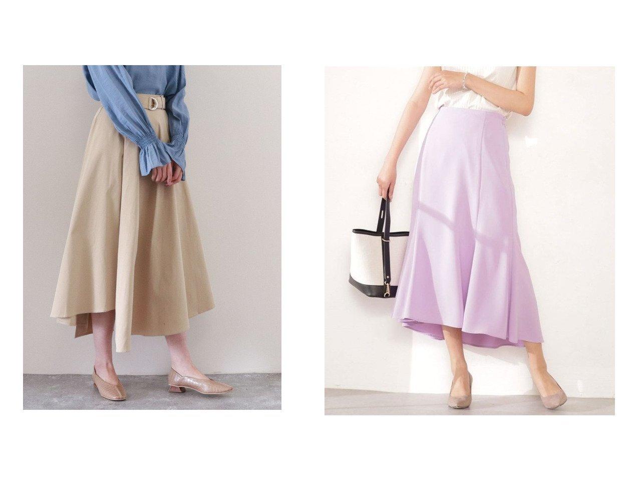 【nano universe/ナノ ユニバース】のWEB限定/マーメイドスカート&【archives/アルシーヴ】のイレギュラーヘムスカート 【スカート】おすすめ!人気、トレンド・レディースファッションの通販 おすすめで人気の流行・トレンド、ファッションの通販商品 メンズファッション・キッズファッション・インテリア・家具・レディースファッション・服の通販 founy(ファニー) https://founy.com/ ファッション Fashion レディースファッション WOMEN スカート Skirt ロングスカート Long Skirt おすすめ Recommend イレギュラーヘム ツイル フレア ロング ワンポイント ウォッシャブル シンプル ダブル ヘムライン マーメイド 長袖 |ID:crp329100000035447