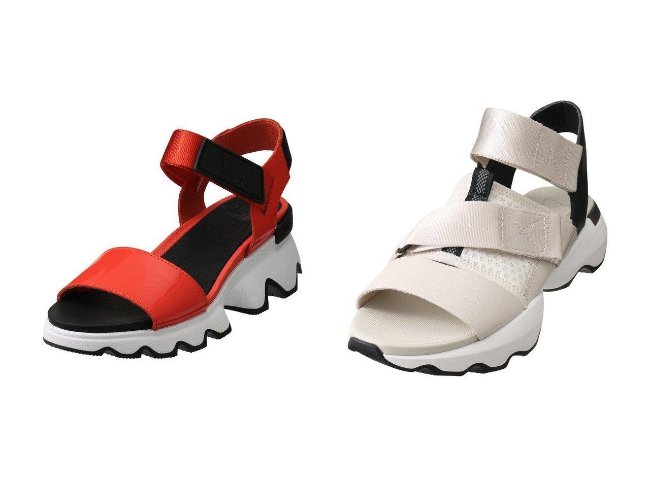 【SOREL/ソレル】のキネティックサンダル&キネティックインパクトサンダル 【シューズ・靴】おすすめ!人気、トレンド・レディースファッションの通販 おすすめで人気の流行・トレンド、ファッションの通販商品 メンズファッション・キッズファッション・インテリア・家具・レディースファッション・服の通販 founy(ファニー) https://founy.com/ ファッション Fashion レディースファッション WOMEN サンダル スポーツ トレンド 人気 今季 S/S・春夏 SS・Spring/Summer スポーティ フェミニン 春 Spring |ID:crp329100000035463