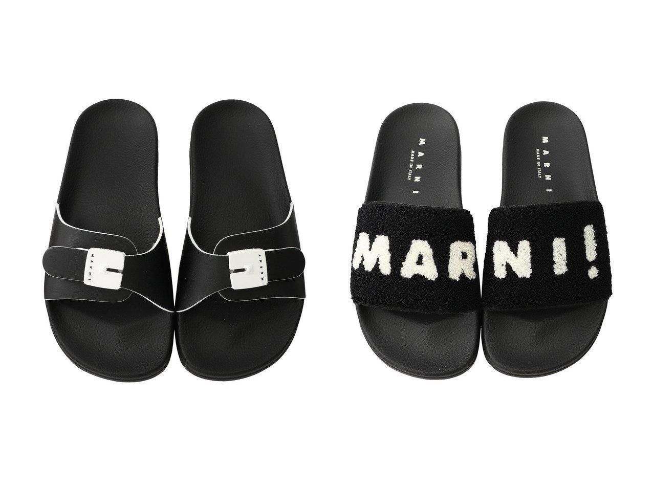 【MARNI/マルニ】のバックル付きスライドサンダル&ロゴ入りスライドサンダル 【シューズ・靴】おすすめ!人気、トレンド・レディースファッションの通販 おすすめで人気の流行・トレンド、ファッションの通販商品 メンズファッション・キッズファッション・インテリア・家具・レディースファッション・服の通販 founy(ファニー) https://founy.com/ ファッション Fashion レディースファッション WOMEN バッグ Bag サンダル シンプル デニム |ID:crp329100000035468