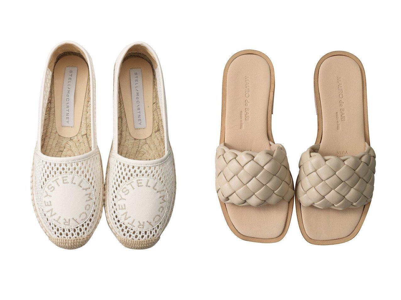 【MAURO de BARI/マウロ デ バーリ】のイントレチャートスライドサンダル&【STELLA McCARTNEY/ステラ マッカートニー】のSelene Woven Mesh エスパドリーユ 【シューズ・靴】おすすめ!人気、トレンド・レディースファッションの通販 おすすめで人気の流行・トレンド、ファッションの通販商品 メンズファッション・キッズファッション・インテリア・家具・レディースファッション・服の通販 founy(ファニー) https://founy.com/ ファッション Fashion レディースファッション WOMEN サンダル シンプル デニム フォルム フラット S/S・春夏 SS・Spring/Summer おすすめ Recommend シューズ フロント メッシュ 春 Spring |ID:crp329100000035469