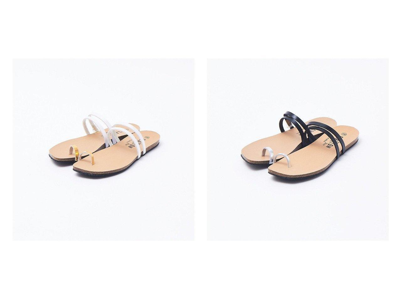 【Rouge vif la cle/ルージュヴィフラクレ】の【PLAKTON】トングサンダル 【シューズ・靴】おすすめ!人気、トレンド・レディースファッションの通販 おすすめで人気の流行・トレンド、ファッションの通販商品 メンズファッション・キッズファッション・インテリア・家具・レディースファッション・服の通販 founy(ファニー) https://founy.com/ ファッション Fashion レディースファッション WOMEN サンダル シューズ フラット ミュール |ID:crp329100000035489
