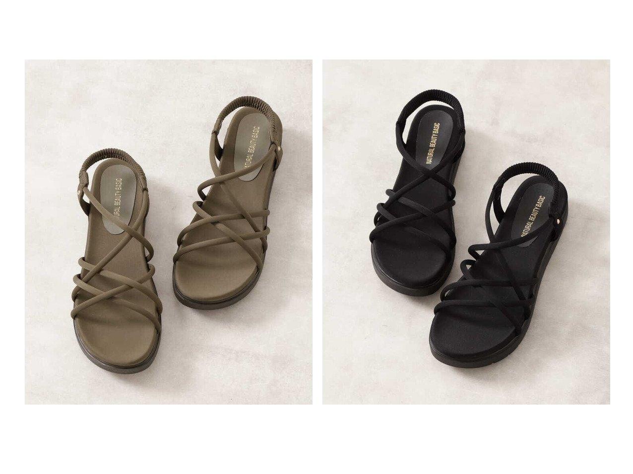 【NATURAL BEAUTY BASIC/ナチュラル ビューティー ベーシック】のスポンディッシュチューブサンダル 【シューズ・靴】おすすめ!人気、トレンド・レディースファッションの通販 おすすめで人気の流行・トレンド、ファッションの通販商品 メンズファッション・キッズファッション・インテリア・家具・レディースファッション・服の通販 founy(ファニー) https://founy.com/ ファッション Fashion レディースファッション WOMEN インソール サンダル チューブ ラップ |ID:crp329100000035493