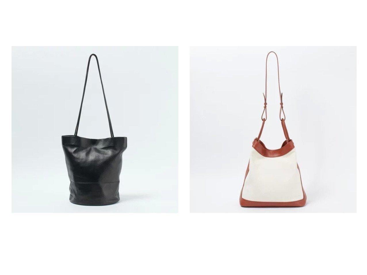 【MODERN WEAVING/モダン ウィーヴィング】のラムレザートート&【elleme/エレメ】のキャンバス レザーバッグ 【バッグ・鞄】おすすめ!人気、トレンド・レディースファッションの通販 おすすめで人気の流行・トレンド、ファッションの通販商品 メンズファッション・キッズファッション・インテリア・家具・レディースファッション・服の通販 founy(ファニー) https://founy.com/ 雑誌掲載アイテム Magazine Items ファッション雑誌 Fashion Magazines エクラ eclat ファッション Fashion レディースファッション WOMEN バッグ Bag 5月号 コンパクト 雑誌  ID:crp329100000035509