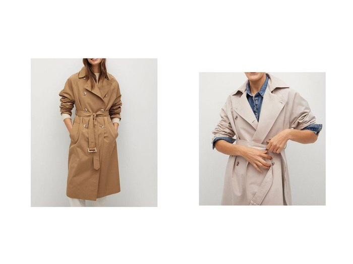 【MANGO/マンゴ】のトレンチコート .-- FORMIGA 【アウター】おすすめ!人気、トレンド・レディースファッションの通販 おすすめ人気トレンドファッション通販アイテム 人気、トレンドファッション・服の通販 founy(ファニー) ファッション Fashion レディースファッション WOMEN アウター Coat Outerwear コート Coats トレンチコート Trench Coats 2021年 2021 2021春夏・S/S SS/Spring/Summer/2021 S/S・春夏 SS・Spring/Summer カフス フロント ラップ ループ 春 Spring 長袖 |ID:crp329100000035530