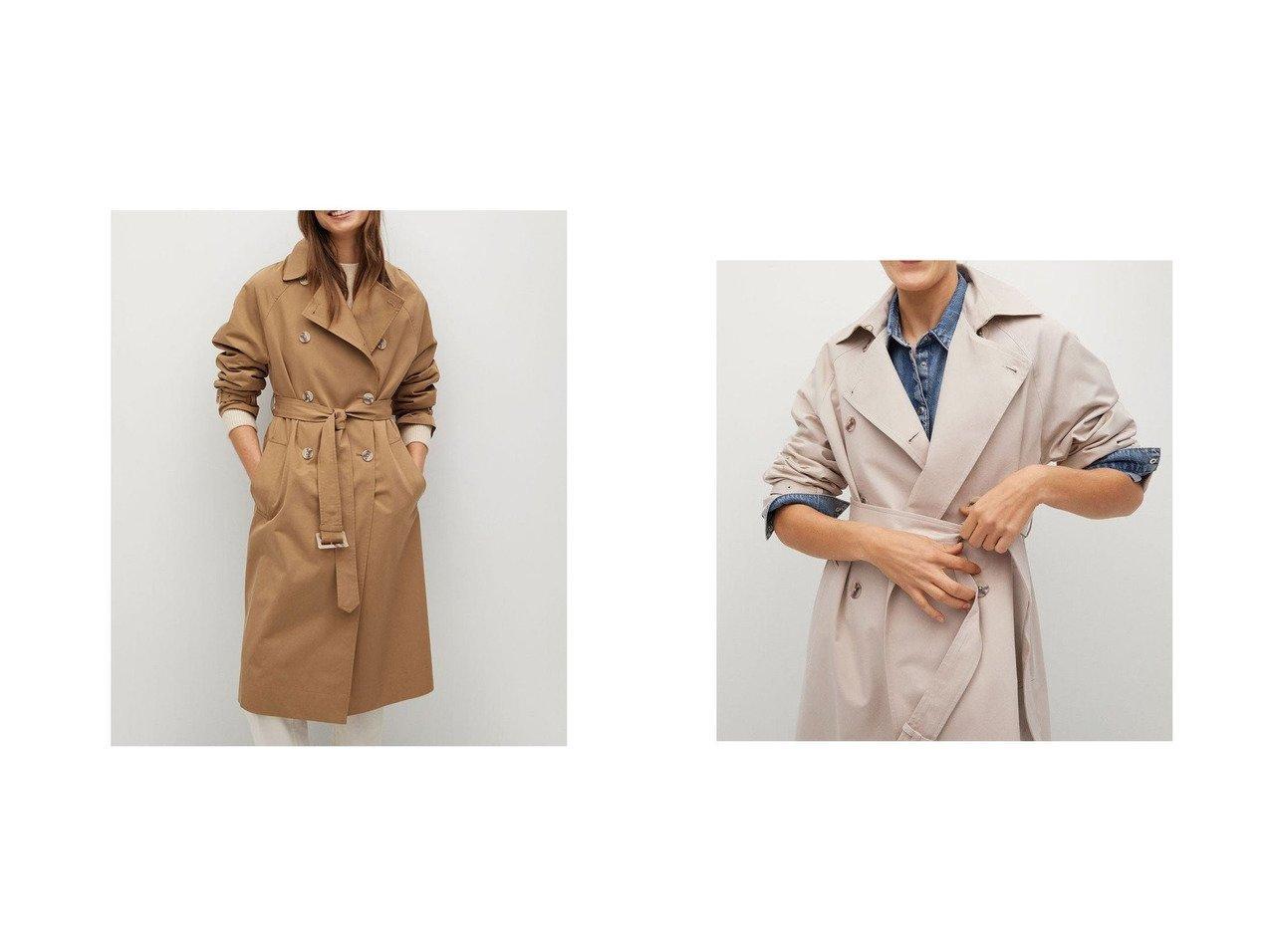 【MANGO/マンゴ】のトレンチコート .-- FORMIGA 【アウター】おすすめ!人気、トレンド・レディースファッションの通販 おすすめで人気の流行・トレンド、ファッションの通販商品 メンズファッション・キッズファッション・インテリア・家具・レディースファッション・服の通販 founy(ファニー) https://founy.com/ ファッション Fashion レディースファッション WOMEN アウター Coat Outerwear コート Coats トレンチコート Trench Coats 2021年 2021 2021春夏・S/S SS/Spring/Summer/2021 S/S・春夏 SS・Spring/Summer カフス フロント ラップ ループ 春 Spring 長袖  ID:crp329100000035530