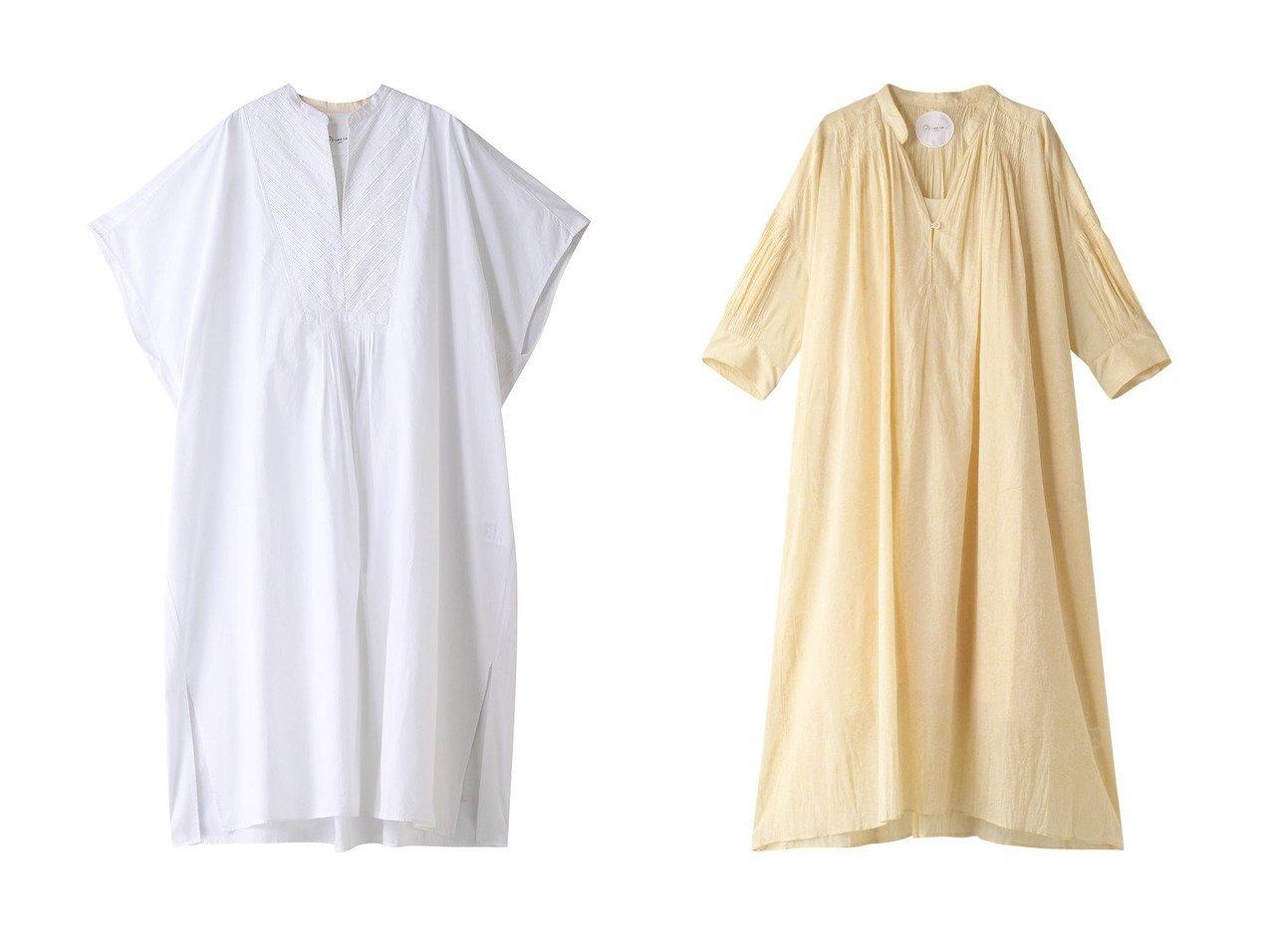 【Pheeta/フィータ】のTrinity コットンピンタックスリットドレス&Harey コットンギャザードレス 【ワンピース・ドレス】おすすめ!人気、トレンド・レディースファッションの通販 おすすめで人気の流行・トレンド、ファッションの通販商品 メンズファッション・キッズファッション・インテリア・家具・レディースファッション・服の通販 founy(ファニー) https://founy.com/ ファッション Fashion レディースファッション WOMEN ワンピース Dress ドレス Party Dresses インド ドレス フォーマル メンズ モチーフ 今季 S/S・春夏 SS・Spring/Summer フォルム プリント リラックス 春 Spring  ID:crp329100000035544