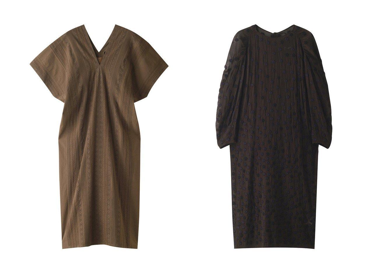 【Pheeta/フィータ】のKate コットンレースタックVネックドレス&Shelby フラワー刺繍ドレス 【ワンピース・ドレス】おすすめ!人気、トレンド・レディースファッションの通販 おすすめで人気の流行・トレンド、ファッションの通販商品 メンズファッション・キッズファッション・インテリア・家具・レディースファッション・服の通販 founy(ファニー) https://founy.com/ ファッション Fashion レディースファッション WOMEN ワンピース Dress ドレス Party Dresses S/S・春夏 SS・Spring/Summer インド ドレス フォルム レース ロング 春 Spring グラデーション ジョーゼット ドレープ フラワー  ID:crp329100000035547