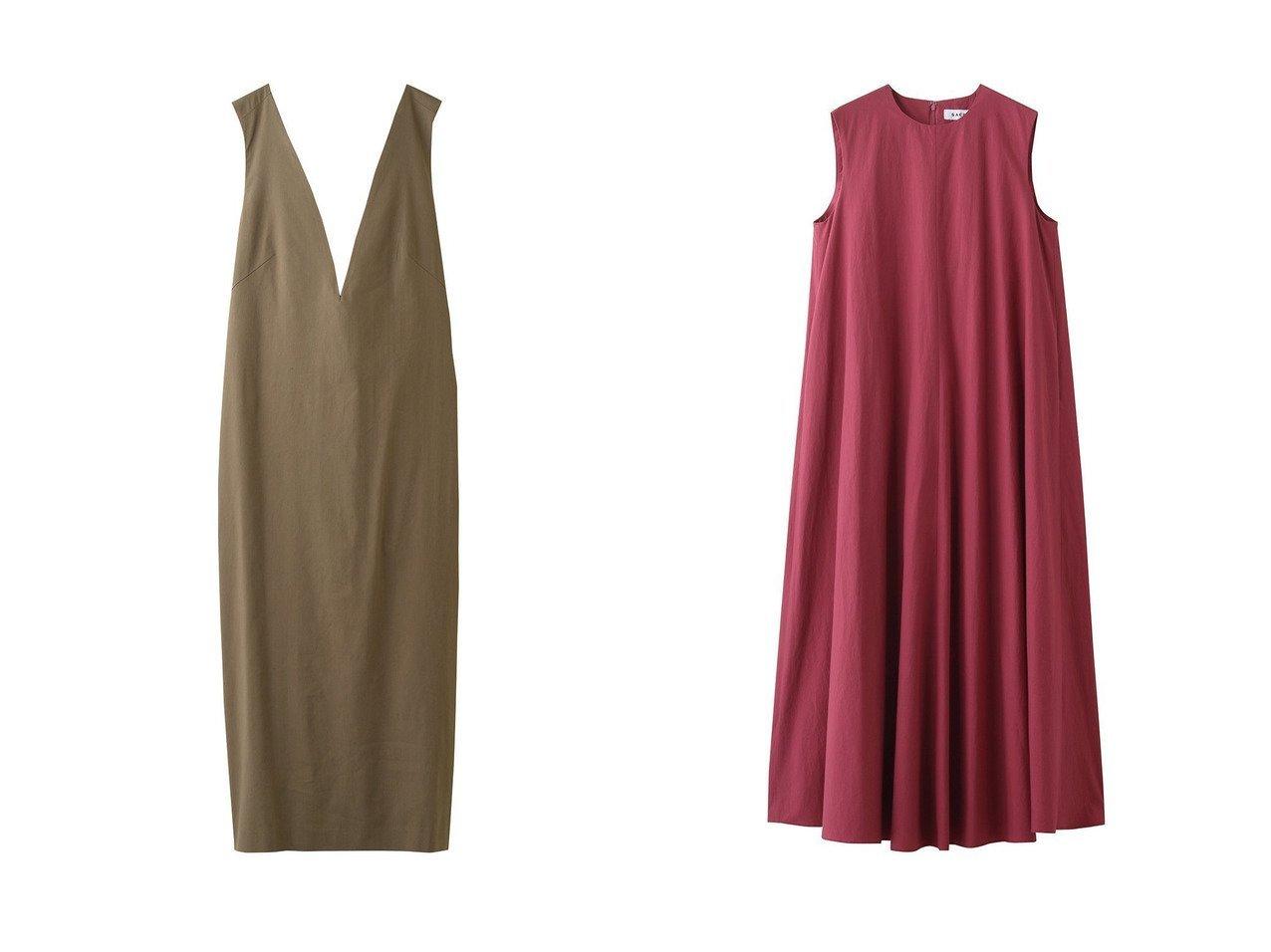 【SACRA/サクラ】のビスコースリネンワンピース&リプルタイプライターワンピース 【ワンピース・ドレス】おすすめ!人気、トレンド・レディースファッションの通販 おすすめで人気の流行・トレンド、ファッションの通販商品 メンズファッション・キッズファッション・インテリア・家具・レディースファッション・服の通販 founy(ファニー) https://founy.com/ ファッション Fashion レディースファッション WOMEN ワンピース Dress ロング S/S・春夏 SS・Spring/Summer シンプル フレア ワッシャー 春 Spring  ID:crp329100000035548