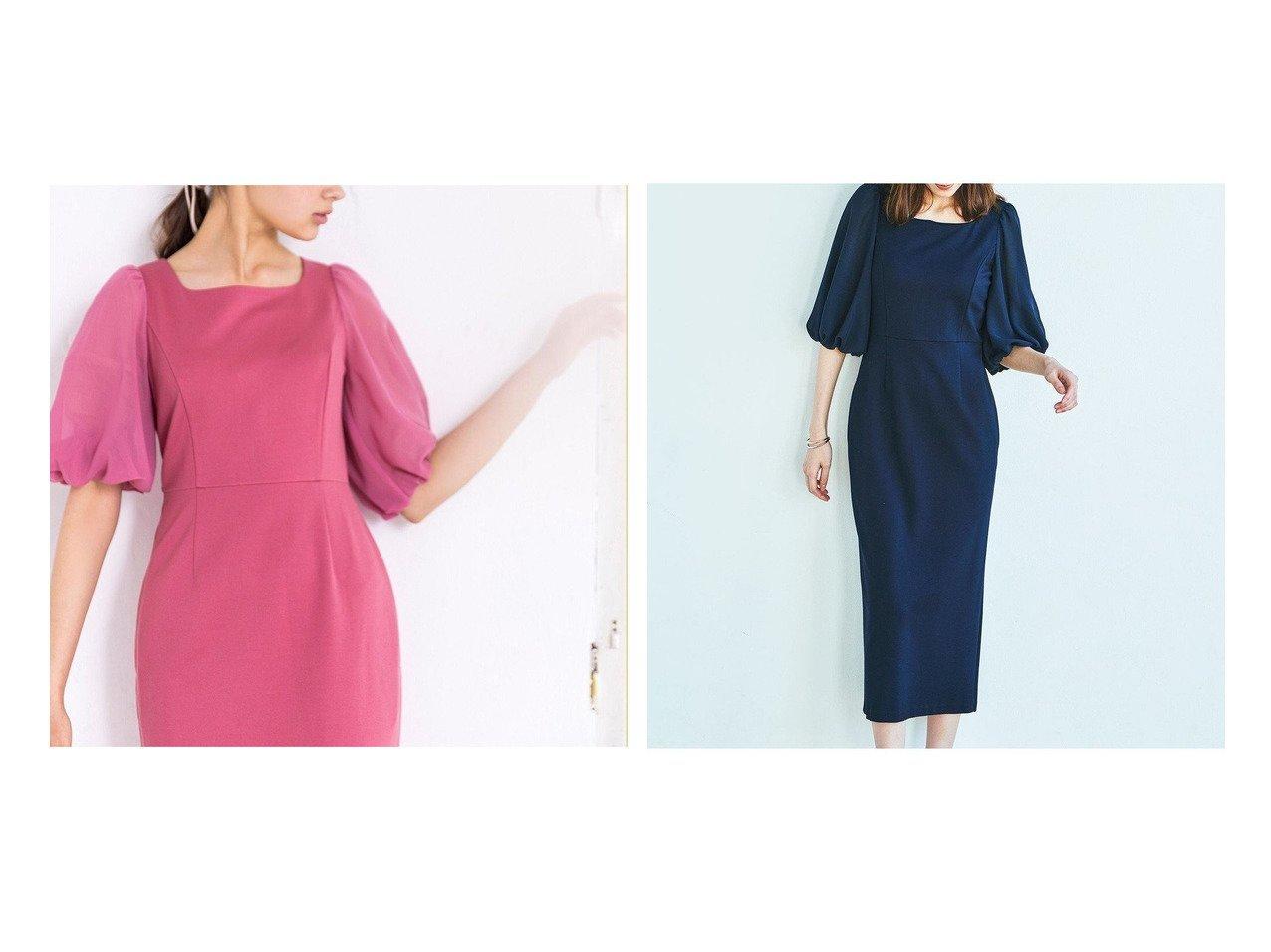 【TOCCA/トッカ】の【TOCCA LAVENDER】Puff Sleeve Jersey Dress ドレス 【ワンピース・ドレス】おすすめ!人気、トレンド・レディースファッションの通販 おすすめで人気の流行・トレンド、ファッションの通販商品 メンズファッション・キッズファッション・インテリア・家具・レディースファッション・服の通販 founy(ファニー) https://founy.com/ ファッション Fashion レディースファッション WOMEN ワンピース Dress ドレス Party Dresses 送料無料 Free Shipping ドレス  ID:crp329100000035566