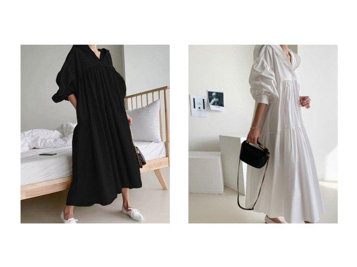 【Jewelobe/ジュエローブ】のフーデットティアードワンピース 【ワンピース・ドレス】おすすめ!人気、トレンド・レディースファッションの通販 おすすめ人気トレンドファッション通販アイテム 人気、トレンドファッション・服の通販 founy(ファニー)  ファッション Fashion レディースファッション WOMEN ワンピース Dress 2021年 2021 2021春夏・S/S SS/Spring/Summer/2021 S/S・春夏 SS・Spring/Summer おすすめ Recommend インナー スニーカー スポーティ ティアード フェミニン ベーシック ロング 春 Spring |ID:crp329100000035570