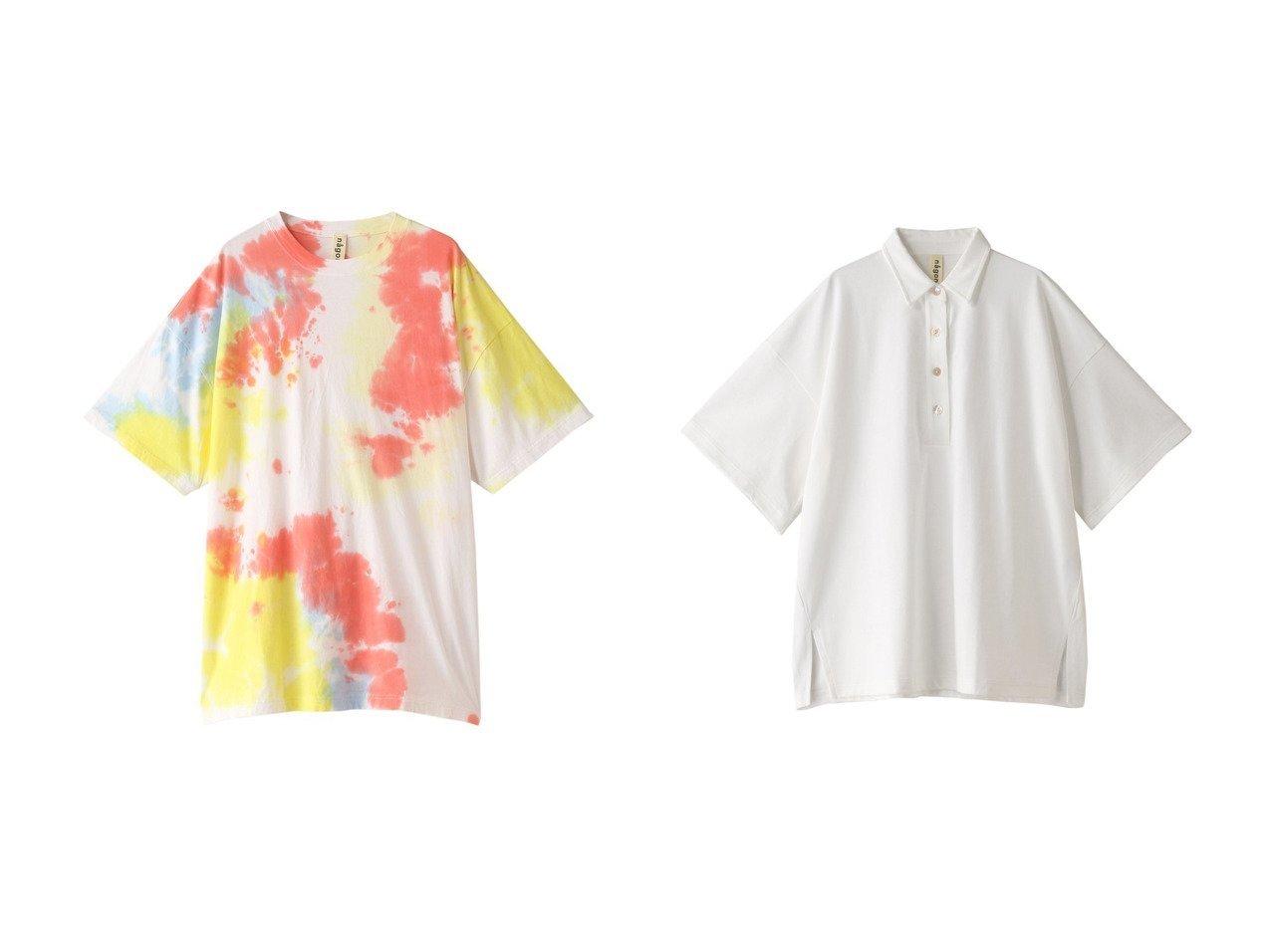 【nagonstans/ナゴンスタンス】のコーマ天竺 Tiedye Tシャツ&Heavy Jersey BIG ポロシャツ 【トップス・カットソー】おすすめ!人気、トレンド・レディースファッションの通販 おすすめで人気の流行・トレンド、ファッションの通販商品 メンズファッション・キッズファッション・インテリア・家具・レディースファッション・服の通販 founy(ファニー) https://founy.com/ ファッション Fashion レディースファッション WOMEN トップス・カットソー Tops/Tshirt キャミソール / ノースリーブ No Sleeves シャツ/ブラウス Shirts/Blouses ロング / Tシャツ T-Shirts カットソー Cut and Sewn ポロシャツ Polo Shirts おすすめ Recommend なめらか キャミソール タンク トレンド ショート シンプル スリーブ バランス ビッグ フォルム ポロシャツ レギンス 人気 今季 |ID:crp329100000035587