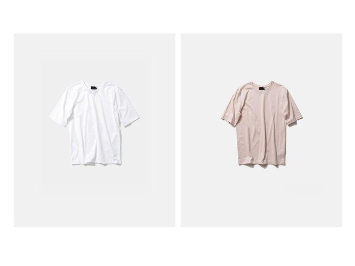 【ATON/エイトン】の2 パーフェクトショートTシャツ 【トップス・カットソー】おすすめ!人気、トレンド・レディースファッションの通販 おすすめ人気トレンドファッション通販アイテム 人気、トレンドファッション・服の通販 founy(ファニー) ファッション Fashion レディースファッション WOMEN トップス・カットソー Tops/Tshirt シャツ/ブラウス Shirts/Blouses ロング / Tシャツ T-Shirts カットソー Cut and Sewn 送料無料 Free Shipping インド カットソー ショート ジャージー |ID:crp329100000035644