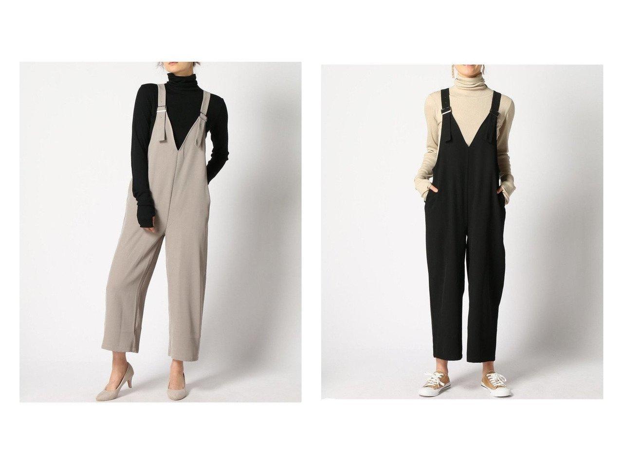 【GLOBAL WORK/グローバルワーク】のケアラクVサロペット 【プチプライス】おすすめ!人気トレンド・ファッション通販 おすすめで人気の流行・トレンド、ファッションの通販商品 メンズファッション・キッズファッション・インテリア・家具・レディースファッション・服の通販 founy(ファニー) https://founy.com/ ファッション Fashion レディースファッション WOMEN おすすめ Recommend カットソー サロペット ジーンズ メタル リラックス  ID:crp329100000035658