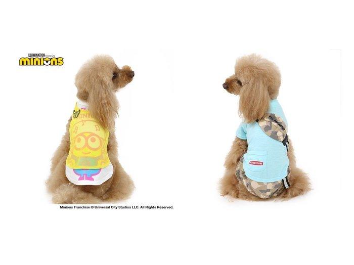 【PET PARADISE/ペットパラダイス】のミニオン 重ね着 メッシュ タンクトップ 〔超小型・小型犬〕&犬服 犬 服 ペットパラダイス 迷彩 ポケット パンツつなぎ 〔小型犬〕 超小型犬 小型犬 おすすめ!人気、ペットグッズの通販 おすすめファッション通販アイテム レディースファッション・服の通販 founy(ファニー) S/S・春夏 SS・Spring/Summer タンク メッシュ 犬 Dog ホーム・キャンプ・アウトドア Home,Garden,Outdoor,Camping Gear ペットグッズ Pet Supplies  ID:crp329100000035732