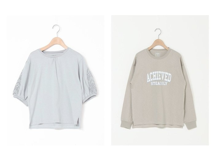 【GLOBAL WORK / KIDS/グローバルワーク】のヘビロッグラフィック&ソデレースキリカエ5S 【KIDS】子供服のおすすめ!人気トレンド・キッズファッションの通販 おすすめ人気トレンドファッション通販アイテム 人気、トレンドファッション・服の通販 founy(ファニー)  ファッション Fashion キッズファッション KIDS トップス・カットソー Tops/Tees/Kids おすすめ Recommend カットソー キャミワンピース レース グラフィック フロント 再入荷 Restock/Back in Stock/Re Arrival |ID:crp329100000035759