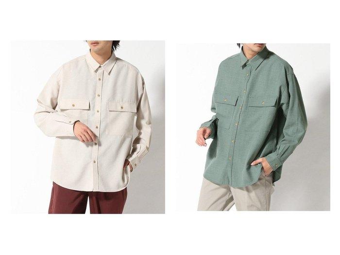 【RAGEBLUE / MEN/レイジブルー】のBIGポケットシャツ 【MEN】おすすめ!人気トレンド・男性、メンズファッションの通販  おすすめ人気トレンドファッション通販アイテム インテリア・キッズ・メンズ・レディースファッション・服の通販 founy(ファニー) https://founy.com/ ファッション Fashion メンズファッション MEN NEW・新作・新着・新入荷 New Arrivals おすすめ Recommend ビッグ ポケット 羽織 長袖 |ID:crp329100000035776