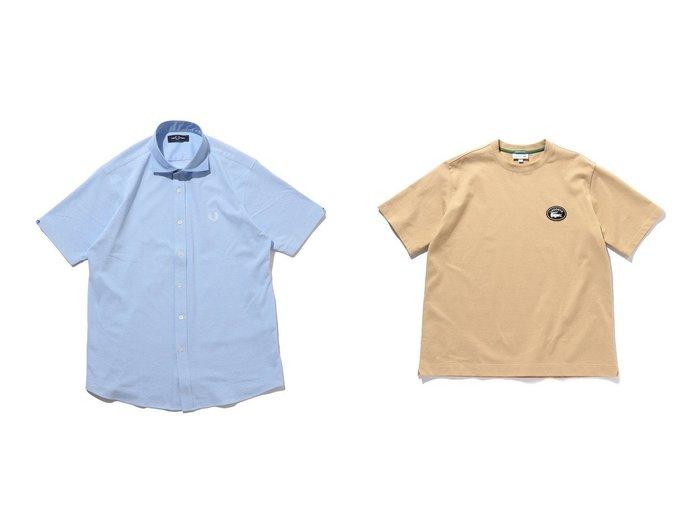 【BEAMS / MEN/ビームス】の別注 Logo T-shirt&別注 Cutaway Polo Shirts 【MEN】おすすめ!人気トレンド・男性、メンズファッションの通販  おすすめファッション通販アイテム レディースファッション・服の通販 founy(ファニー) ファッション Fashion メンズファッション MEN トップス・カットソー Tops/Tshirt/Men シャツ Shirts ポロシャツ Polo Shirts カットソー ベスト ポロシャツ ロンドン 別注 鹿の子 |ID:crp329100000035779