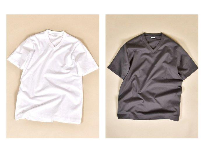 【SHIPS / MEN/シップス】のSC 抗菌・防臭 NANO-FINE ハイゲージ コットン Vネック Tシャツ 【MEN】おすすめ!人気トレンド・男性、メンズファッションの通販  おすすめ人気トレンドファッション通販アイテム 人気、トレンドファッション・服の通販 founy(ファニー) ファッション Fashion メンズファッション MEN トップス・カットソー Tops/Tshirt/Men シャツ Shirts インド インナー カットソー 抗菌 ジャケット フィット NEW・新作・新着・新入荷 New Arrivals おすすめ Recommend 日本製 Made in Japan |ID:crp329100000035780