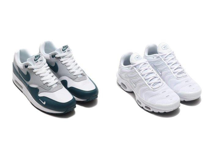 【NIKE / MEN/ナイキ】のNIKE AIR MAX 1 LV8&NIKE AIR MAX PLUS 【MEN】おすすめ!人気トレンド・男性、メンズファッションの通販  おすすめ人気トレンドファッション通販アイテム 人気、トレンドファッション・服の通販 founy(ファニー) ファッション Fashion メンズファッション MEN シューズ・靴 Shoes/Men スニーカー Sneakers クラシック シューズ スニーカー スポーツ スリッポン 人気 メッシュ 軽量 |ID:crp329100000035785