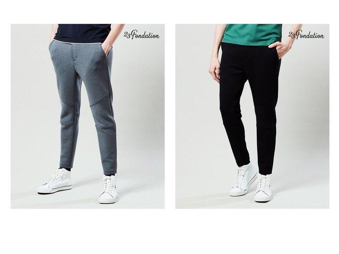 【23区GOLF / MEN/23区 ゴルフ】の【MEN】【Fondation】【ストレッチ】JERSEYパンツ 【MEN】おすすめ!人気トレンド・男性、メンズファッションの通販  おすすめ人気トレンドファッション通販アイテム 人気、トレンドファッション・服の通販 founy(ファニー) ファッション Fashion メンズファッション MEN ボトムス Bottoms/Men 送料無料 Free Shipping ジャージー ストレッチ |ID:crp329100000035786