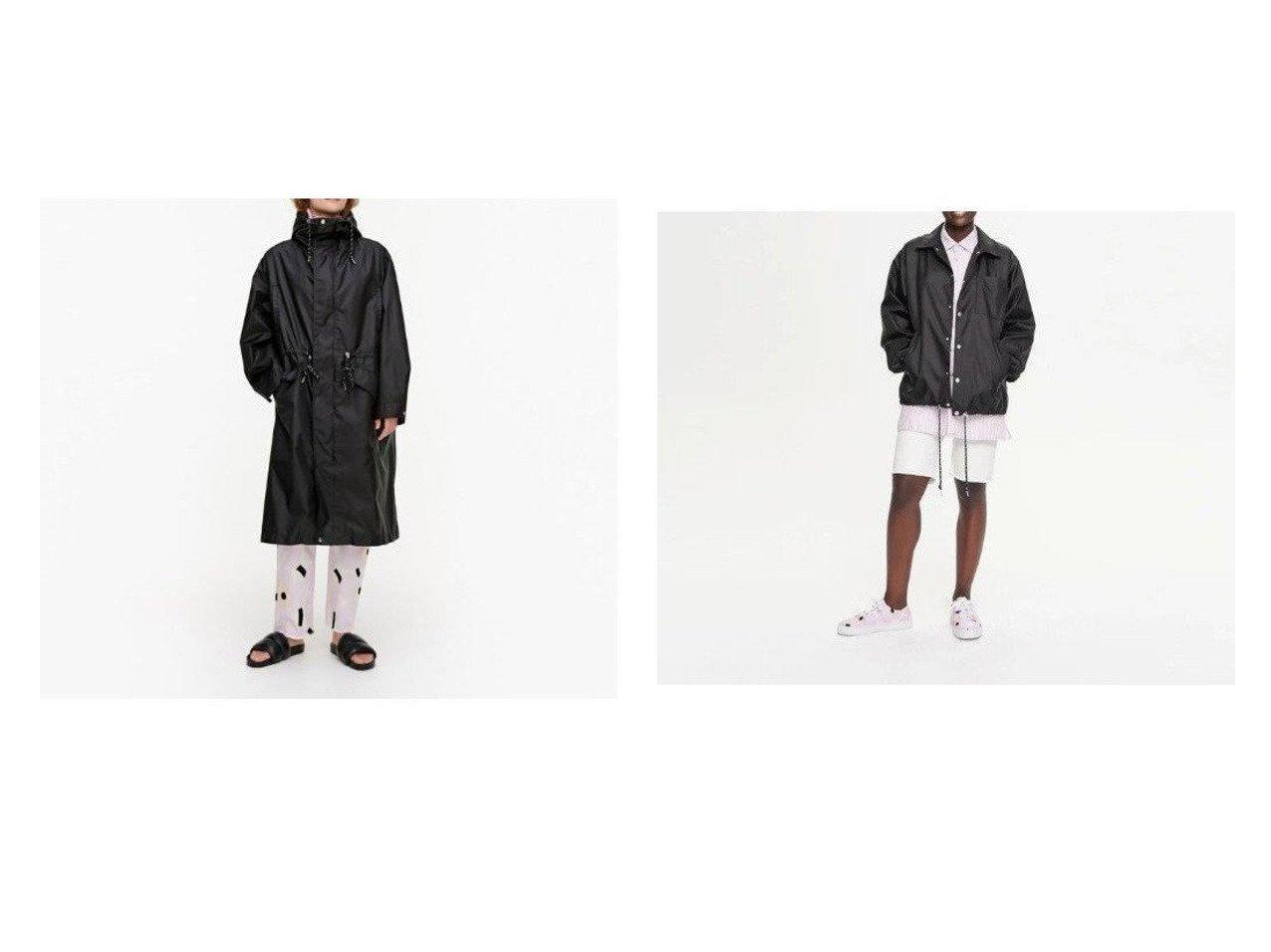【marimekko/マリメッコ】のPelto コート&Pellot コート おすすめ!人気、トレンド・レディースファッションの通販 おすすめで人気の流行・トレンド、ファッションの通販商品 メンズファッション・キッズファッション・インテリア・家具・レディースファッション・服の通販 founy(ファニー) https://founy.com/ ファッション Fashion レディースファッション WOMEN アウター Coat Outerwear コート Coats ドローストリング フロント ポケット モチーフ |ID:crp329100000035900