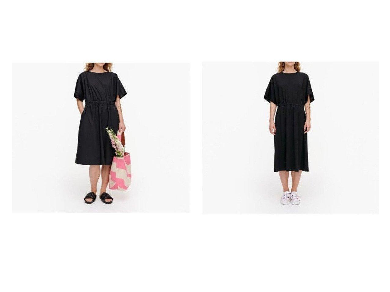 【marimekko/マリメッコ】のSaapuu ワンピース&Ikkunani ワンピース おすすめ!人気、トレンド・レディースファッションの通販 おすすめで人気の流行・トレンド、ファッションの通販商品 メンズファッション・キッズファッション・インテリア・家具・レディースファッション・服の通販 founy(ファニー) https://founy.com/ ファッション Fashion レディースファッション WOMEN ワンピース Dress ギャザー スリーブ シンプル 今季 |ID:crp329100000035904