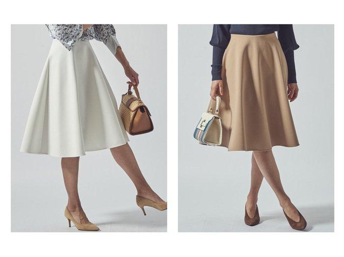 【Viaggio Blu/ビアッジョブルー】の【WEB別注カラーあり】スプリングサーキュラースカート 【スカート】おすすめ!人気、トレンド・レディースファッションの通販 おすすめファッション通販アイテム レディースファッション・服の通販 founy(ファニー)  ファッション Fashion レディースファッション WOMEN スカート Skirt ロングスカート Long Skirt ストレッチ ロング 人気 別注 定番 Standard |ID:crp329100000035922