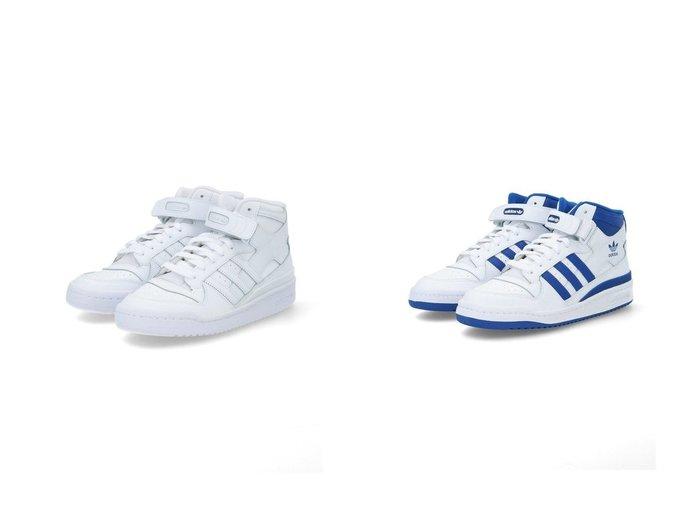 【adidas Originals/アディダス オリジナルス】のフォーラムミッド Forum Mid アディダスオリジナルス 【シューズ・靴】おすすめ!人気、トレンド・レディースファッションの通販 おすすめファッション通販アイテム レディースファッション・服の通販 founy(ファニー) ファッション Fashion レディースファッション WOMEN コーティング シューズ スニーカー スポーツ スリッポン バスケット ミックス ラップ リュクス レース |ID:crp329100000035929