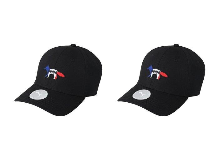 【PUMA/プーマ】の【UNISEX】【PUMA x MAISON KITSUNE】キャップ・帽子&【UNISEX】【PUMA x MAISON KITSUNE】キャップ・帽子 おすすめ!人気、トレンド・レディースファッションの通販 おすすめファッション通販アイテム レディースファッション・服の通販 founy(ファニー) ファッション Fashion レディースファッション WOMEN 帽子 Hats UNISEX キャップ フロント 人気 帽子 |ID:crp329100000036045