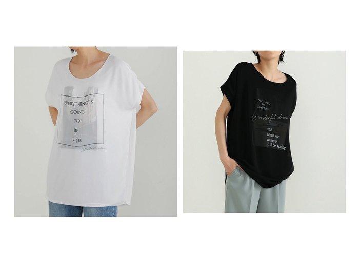 【Bou Jeloud/ブージュルード】の街プリント3DTシャツ&サーフプリント3DTシャツ 【プチプライス】おすすめ!人気トレンド・ファッション通販 おすすめファッション通販アイテム レディースファッション・服の通販 founy(ファニー) ファッション Fashion レディースファッション WOMEN トップス・カットソー Tops/Tshirt シャツ/ブラウス Shirts/Blouses ロング / Tシャツ T-Shirts おすすめ Recommend カットソー シフォン ドッキング プチプライス・低価格 Affordable プリント |ID:crp329100000036285