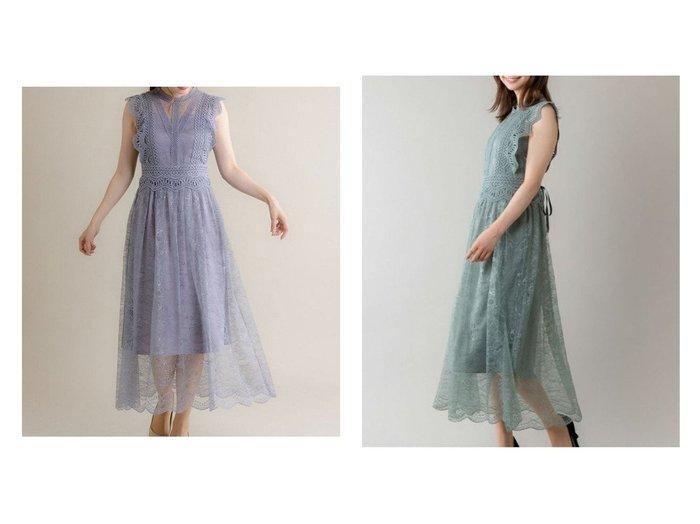 【Rewde/ルゥデ】のフレンチスリーブレースドレス 【ワンピース・ドレス】おすすめ!人気、トレンド・レディースファッションの通販 おすすめ人気トレンドファッション通販アイテム 人気、トレンドファッション・服の通販 founy(ファニー) ファッション Fashion レディースファッション WOMEN ワンピース Dress ドレス Party Dresses おすすめ Recommend ショルダー ドレス レース |ID:crp329100000036359