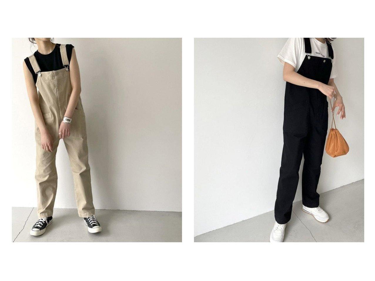 【RED CHOP WORKS/レッドチョップワークス】のRED CHOP WORKS(レッドチョップワークス) ストレッチツイルスリムサロペット おすすめ!人気、トレンド・レディースファッションの通販  おすすめで人気の流行・トレンド、ファッションの通販商品 メンズファッション・キッズファッション・インテリア・家具・レディースファッション・服の通販 founy(ファニー) https://founy.com/ ファッション Fashion レディースファッション WOMEN コンパクト サロペット シンプル ジーンズ タンク ポケット ラップ 再入荷 Restock/Back in Stock/Re Arrival NEW・新作・新着・新入荷 New Arrivals おすすめ Recommend |ID:crp329100000036444