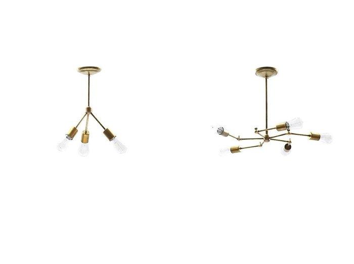 【ACME Furniture/アクメファニチャー】のSOLID BRASS LAMP 3ARM 45° ソリッド ブラスランプ 3アーム45°&ソリッド ブラスランプ 5アーム 【FURNITURE】おすすめ!人気、インテリア・家具の通販 おすすめ人気トレンドファッション通販アイテム 人気、トレンドファッション・服の通販 founy(ファニー) ヴィンテージ シンプル フォルム 送料無料 Free Shipping ホーム・キャンプ・アウトドア Home,Garden,Outdoor,Camping Gear 家具・インテリア Furniture ライト・照明 Lighting & Light Fixtures シーリングライト  ID:crp329100000036525