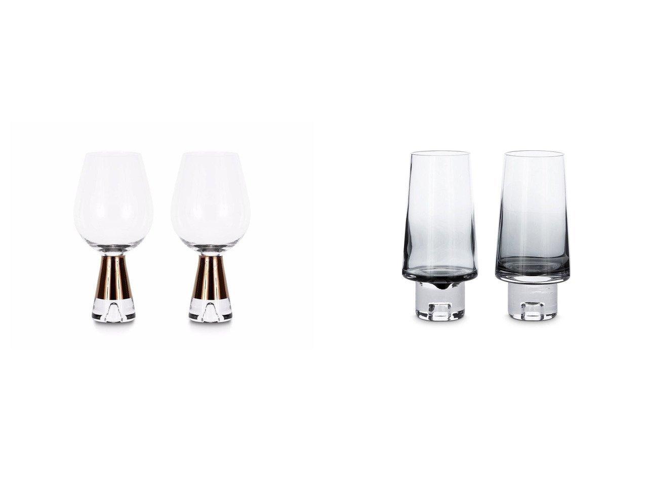 【Tom Dixon/トム ディクソン】のTank Wine Glasses × タンク ワイングラス 2脚セット(コッパー)&タンク ハイボールグラス 2個セット(ブラック) 【FURNITURE】おすすめ!人気、インテリア・家具の通販 おすすめで人気の流行・トレンド、ファッションの通販商品 メンズファッション・キッズファッション・インテリア・家具・レディースファッション・服の通販 founy(ファニー) https://founy.com/ 送料無料 Free Shipping ガラス グラス コレクション タンク テーブル 手描き グラデーション スタイリッシュ タンブラー  ID:crp329100000036585