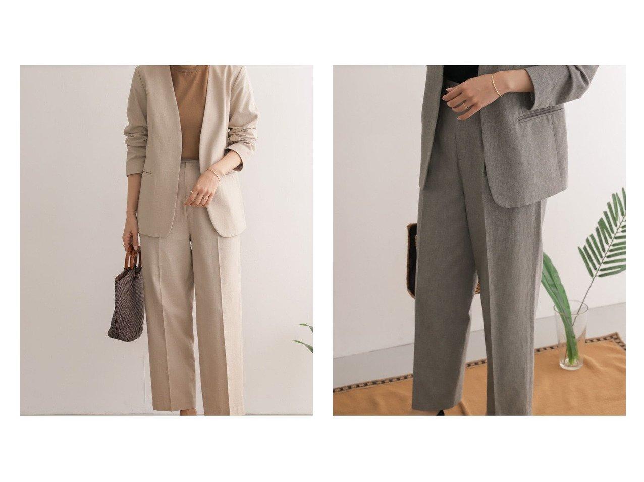 【URBAN RESEARCH DOORS/アーバンリサーチ ドアーズ】のコットンリネントラウザー 【パンツ】おすすめ!人気、トレンド・レディースファッションの通販 おすすめで人気の流行・トレンド、ファッションの通販商品 メンズファッション・キッズファッション・インテリア・家具・レディースファッション・服の通販 founy(ファニー) https://founy.com/ ファッション Fashion レディースファッション WOMEN パンツ Pants NEW・新作・新着・新入荷 New Arrivals おすすめ Recommend ジーンズ ストレート セットアップ リネン リラックス  ID:crp329100000036673
