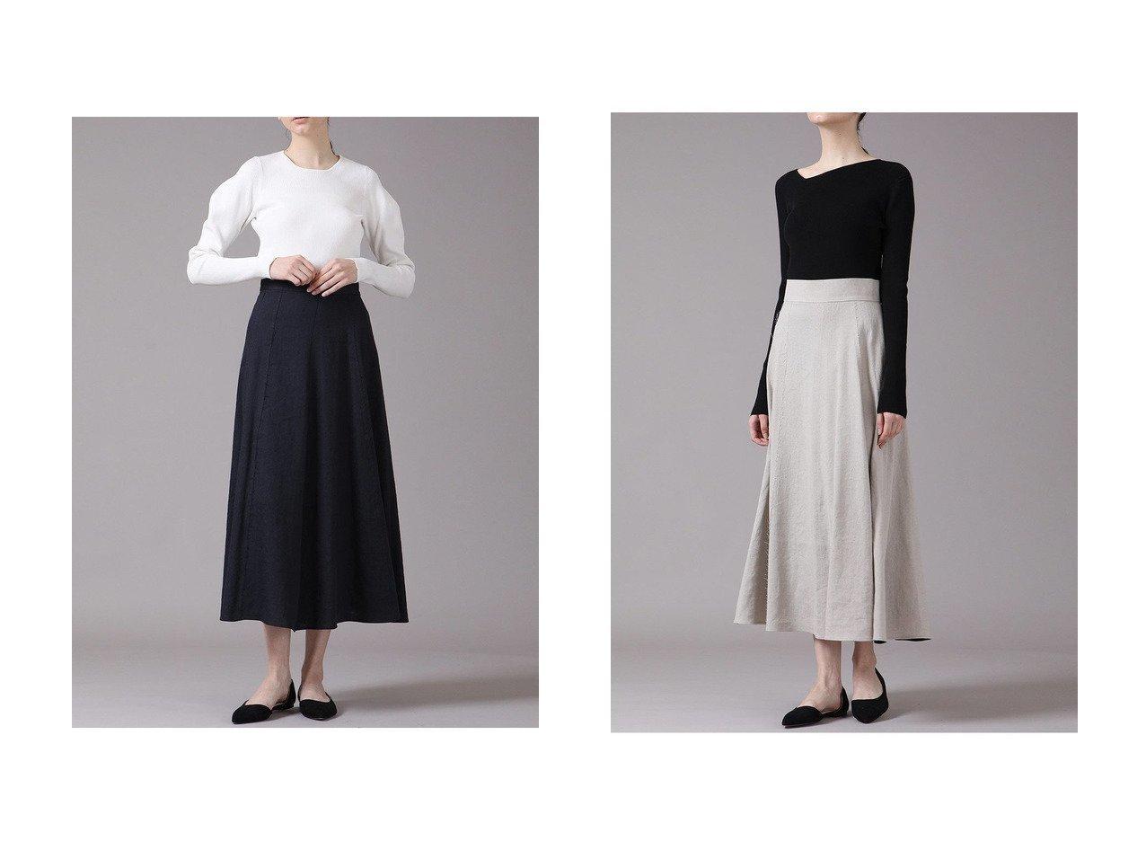 【ESSEN LAUTREAMONT/エッセン ロートレアモン】のWONDER LINENスカート 【スカート】おすすめ!人気、トレンド・レディースファッションの通販 おすすめで人気の流行・トレンド、ファッションの通販商品 メンズファッション・キッズファッション・インテリア・家具・レディースファッション・服の通販 founy(ファニー) https://founy.com/ ファッション Fashion レディースファッション WOMEN スカート Skirt アシンメトリー ストレッチ フレア マキシ リネン ロング |ID:crp329100000036698