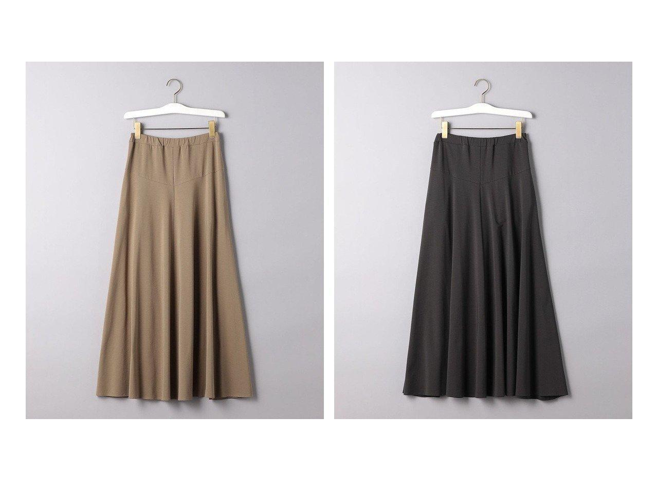 【UNITED ARROWS/ユナイテッドアローズ】のC イージー フレアースカート 【スカート】おすすめ!人気、トレンド・レディースファッションの通販 おすすめで人気の流行・トレンド、ファッションの通販商品 メンズファッション・キッズファッション・インテリア・家具・レディースファッション・服の通販 founy(ファニー) https://founy.com/ ファッション Fashion レディースファッション WOMEN スカート Skirt Aライン/フレアスカート Flared A-Line Skirts ギャザー フレア フレアースカート ロング 再入荷 Restock/Back in Stock/Re Arrival |ID:crp329100000036701