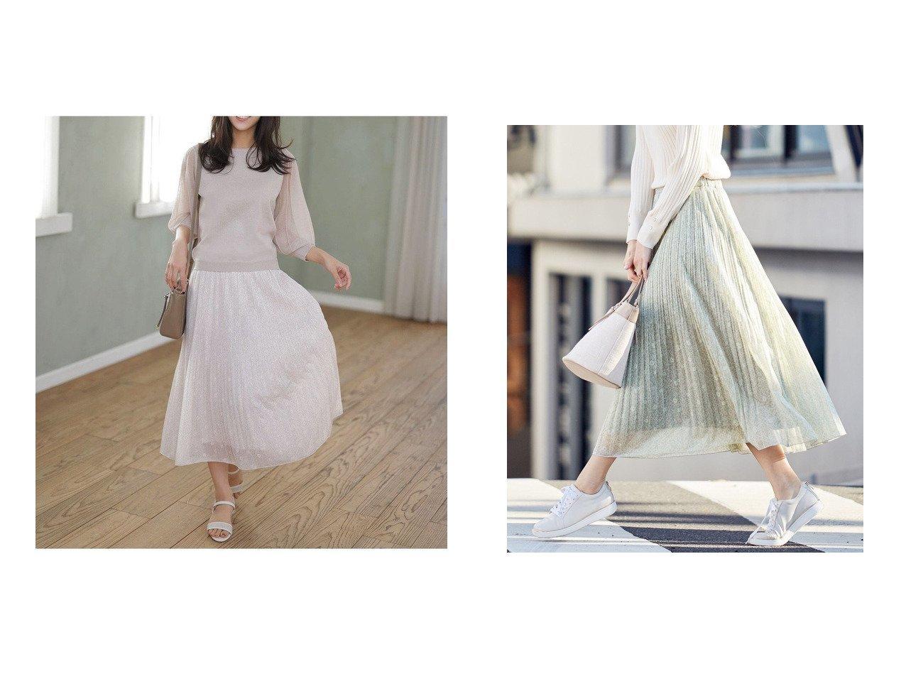 【any SiS/エニィ スィス】の【洗える】刺繍風ミニフラワープリント スカート 【スカート】おすすめ!人気、トレンド・レディースファッションの通販 おすすめで人気の流行・トレンド、ファッションの通販商品 メンズファッション・キッズファッション・インテリア・家具・レディースファッション・服の通販 founy(ファニー) https://founy.com/ ファッション Fashion レディースファッション WOMEN スカート Skirt 送料無料 Free Shipping シアー ジャージー トレンド プリント プリーツ マーガレット 再入荷 Restock/Back in Stock/Re Arrival 洗える |ID:crp329100000036715
