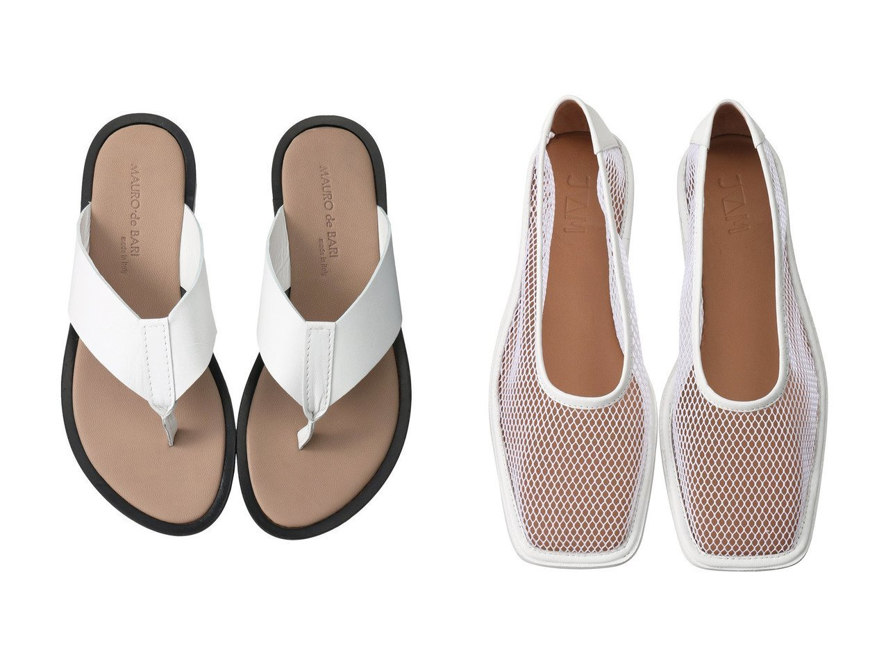 【JVAM/ジェーヴィエーエム】のSALAI スクエアトゥメッシュフラットシューズ&【MAURO de BARI/マウロ デ バーリ】のトングサンダル 【シューズ・靴】おすすめ!人気、トレンド・レディースファッションの通販 おすすめで人気の流行・トレンド、ファッションの通販商品 メンズファッション・キッズファッション・インテリア・家具・レディースファッション・服の通販 founy(ファニー) https://founy.com/ ファッション Fashion レディースファッション WOMEN シューズ フラット メッシュ リゾート 今季 サンダル トレンド マキシ |ID:crp329100000036720