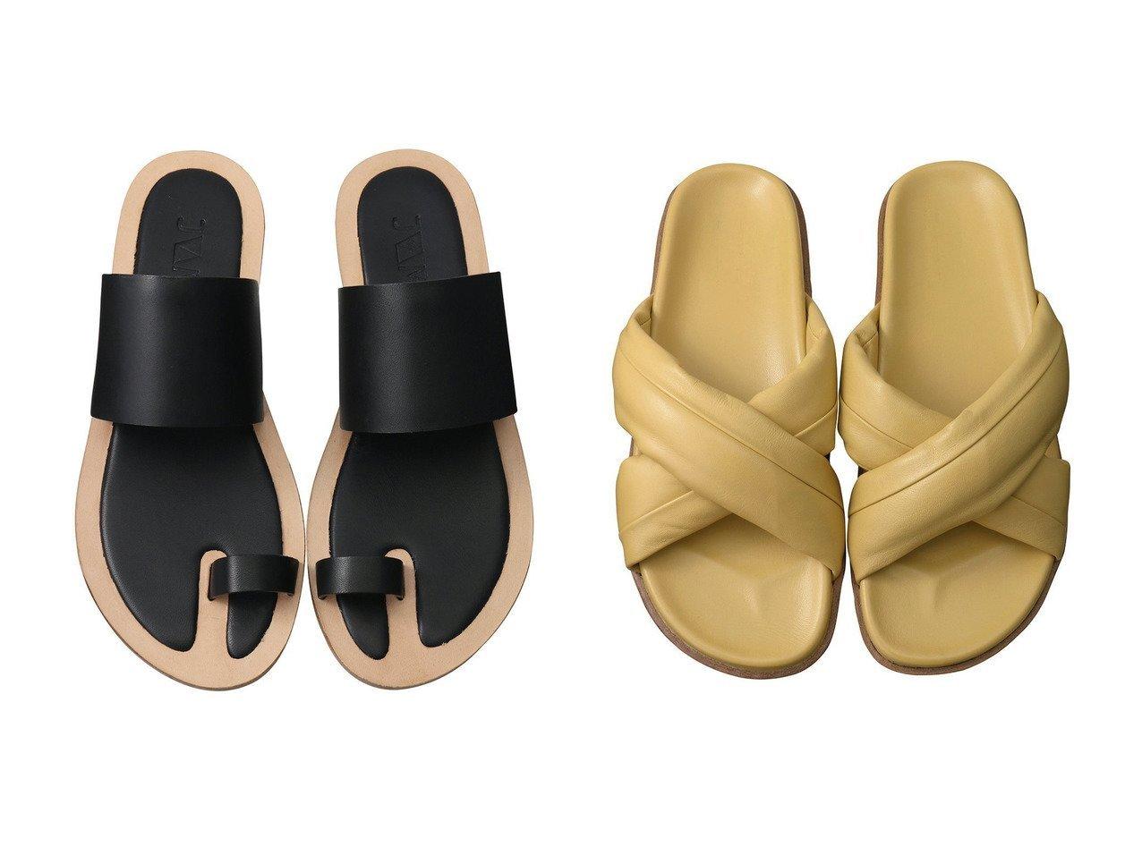 【JVAM/ジェーヴィエーエム】のOAK クロスベルトフットベッドサンダル&NIM トゥリングサンダル 【シューズ・靴】おすすめ!人気、トレンド・レディースファッションの通販 おすすめで人気の流行・トレンド、ファッションの通販商品 メンズファッション・キッズファッション・インテリア・家具・レディースファッション・服の通販 founy(ファニー) https://founy.com/ ファッション Fashion レディースファッション WOMEN ベルト Belts なめらか インソール クッション サンダル トラベル フラット シンプル 今季 |ID:crp329100000036723