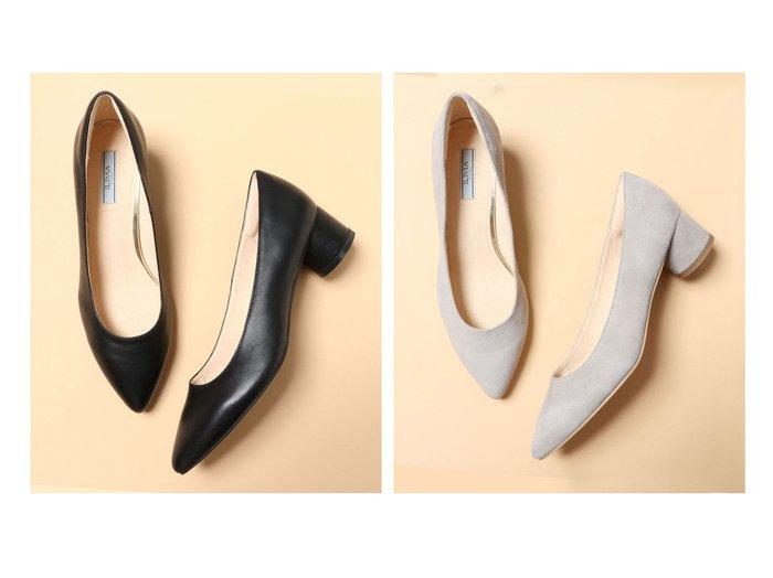 【EVOL/イーボル】の【EVOL】 本革4.5cmパンプス 【シューズ・靴】おすすめ!人気、トレンド・レディースファッションの通販 おすすめ人気トレンドファッション通販アイテム 人気、トレンドファッション・服の通販 founy(ファニー) ファッション Fashion レディースファッション WOMEN NEW・新作・新着・新入荷 New Arrivals クッション シューズ |ID:crp329100000036724