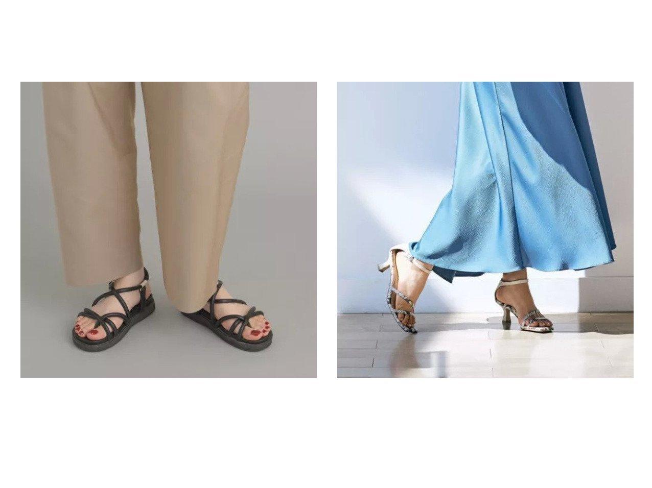 【Odette e Odile/オデット エ オディール】のOFC フットベットチューブ サンダル20&【LAUTRE AMONT/ロートレ アモン】のパイソンスクエアサンダル 【シューズ・靴】おすすめ!人気、トレンド・レディースファッションの通販 おすすめで人気の流行・トレンド、ファッションの通販商品 メンズファッション・キッズファッション・インテリア・家具・レディースファッション・服の通販 founy(ファニー) https://founy.com/ ファッション Fashion レディースファッション WOMEN サンダル シューズ スポーツ チューブ シンプル パイソン |ID:crp329100000036726