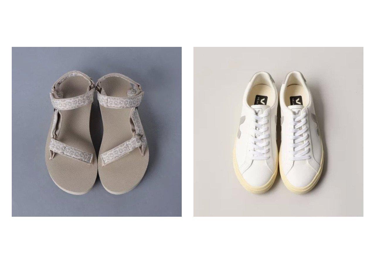 【UNITED ARROWS/ユナイテッドアローズ】のMID UNIVERSAL LEO サンダル&【Odette e Odile/オデット エ オディール】のVEJA ESPLAR 【シューズ・靴】おすすめ!人気、トレンド・レディースファッションの通販 おすすめで人気の流行・トレンド、ファッションの通販商品 メンズファッション・キッズファッション・インテリア・家具・レディースファッション・服の通販 founy(ファニー) https://founy.com/ ファッション Fashion レディースファッション WOMEN サンダル シューズ スニーカー スポーツ 人気 バランス ビーチ ラップ レオパード おすすめ Recommend シンプル モダン |ID:crp329100000036727