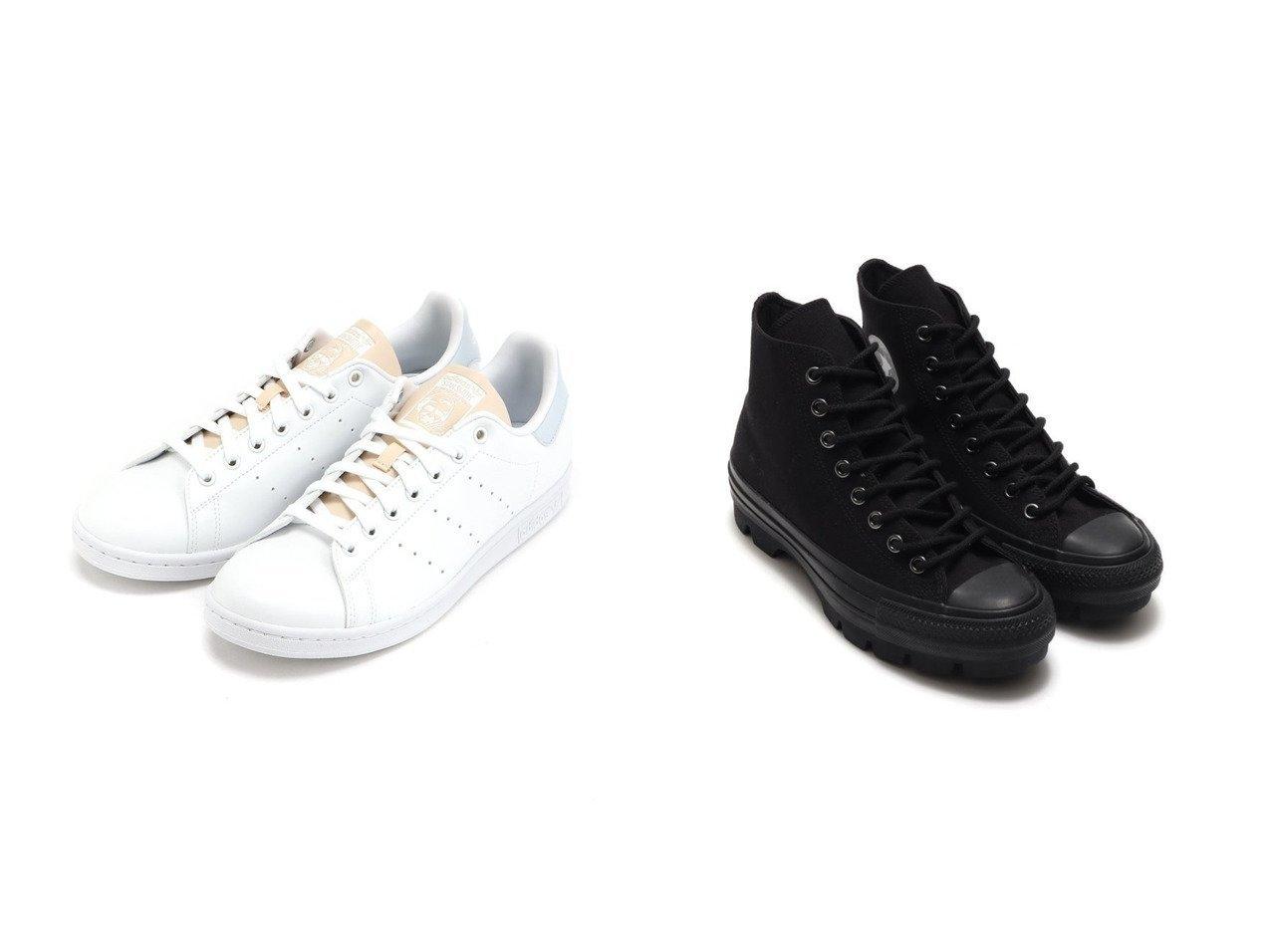 【CONVERSE/コンバース】のCONVERSE ALL STAR 100 CB CHUNK HI&【adidas Originals/アディダス オリジナルス】のスタンスミス STAN SMITH アディダスオリジナルス GV7376 【シューズ・靴】おすすめ!人気、トレンド・レディースファッションの通販 おすすめで人気の流行・トレンド、ファッションの通販商品 メンズファッション・キッズファッション・インテリア・家具・レディースファッション・服の通販 founy(ファニー) https://founy.com/ ファッション Fashion レディースファッション WOMEN アンクル キャンバス シューズ スニーカー スリッポン パッチ クラシック シンプル スポーツ 定番 Standard ミックス NEW・新作・新着・新入荷 New Arrivals |ID:crp329100000036730